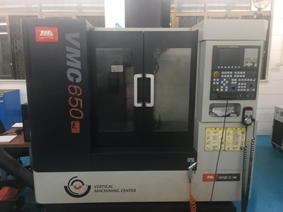 VMC650E 3-axis vertical machining center
